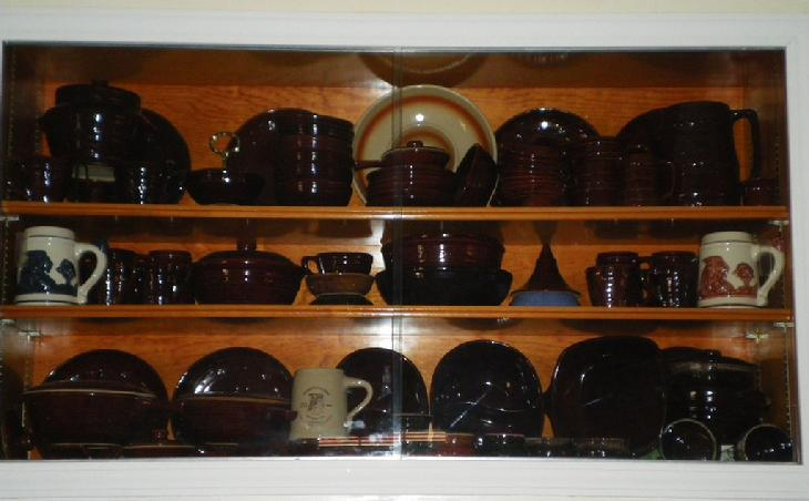 My Mar-crest / Western Stoneware collection, Marcrest, daisy and dot, warm Colorado brown, pastel Mar-crest, Ovenproof Stoneware